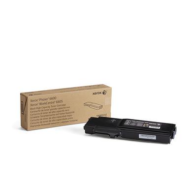 Xerox Cartouche de toner Noir Phaser 6600/WorkCentre 6605 grande capacité (8 000 pages)