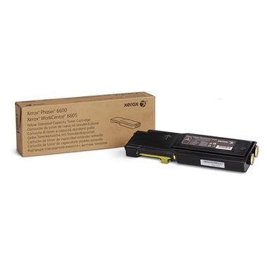 Xerox Cartouche de toner Jaune Phaser 6600/WorkCentre 6605 capacité standard (2 000 pages)