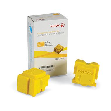 Xerox Encre ColorQube 8570, jaune (2 bâtonnets 4400 pages)
