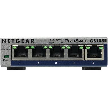 Netgear GS105E-200PES commutateur réseau Géré L2/L3 Gigabit Ethernet (10/100/1000) Gris