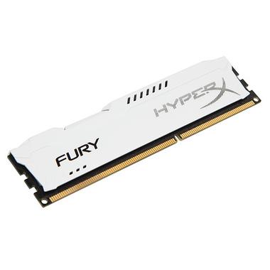 HyperX FURY White 8GB 1866MHz DDR3 module de mémoire 8 Go 1 x 8 Go