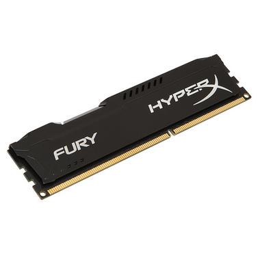 HyperX FURY Black 8GB 1600MHz DDR3 module de mémoire 8 Go 1 x 8 Go