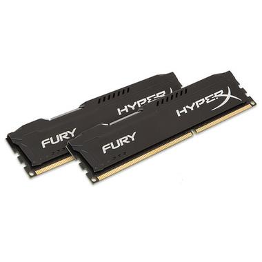 HyperX FURY Black 8GB 1333MHz DDR3 module de mémoire 8 Go 2 x 4 Go