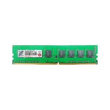 Transcend 4GB 2133 U-DIMM module de mémoire 4 Go 1 x 8 Go DDR4 2133 MHz
