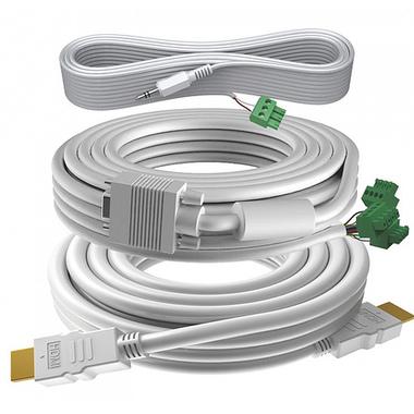 Vision TC3-PK15MCABLES câble VGA 15 m VGA (D-Sub) Blanc
