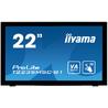 """iiyama ProLite T2235MSC moniteur à écran tactile 54,6 cm (21.5"""") 1920 x 1080 pixels Noir Plusieurs pressions Dessus de table"""