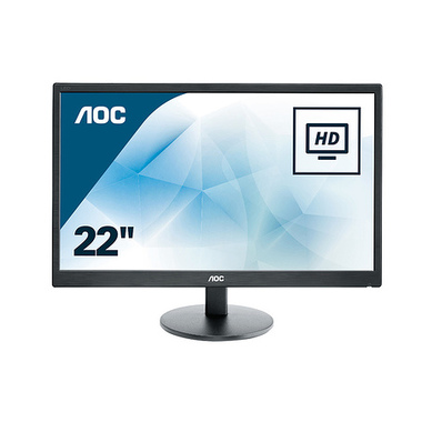 "AOC Basic-line 70 E2270SWDN 21.5"" LED Full HD 5 ms Noir"