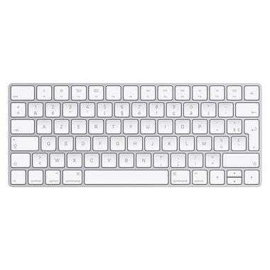 Apple MLA22 clavier Bluetooth Français Argent, Blanc