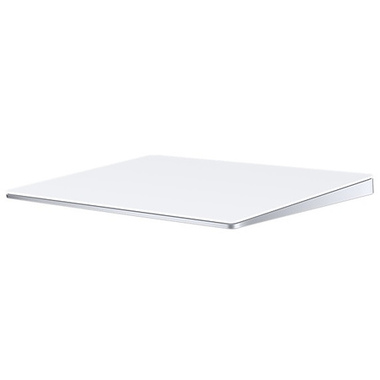 Apple Magic Trackpad 2 pavé tactile Sans fil Argent, Blanc