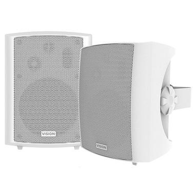 Vision SP-1800 haut-parleur 3-voies 50 W Blanc Avec fil