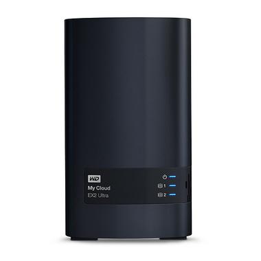 Western Digital My Cloud EX2 Ultra Armada 385 Ethernet/LAN Bureau Noir NAS