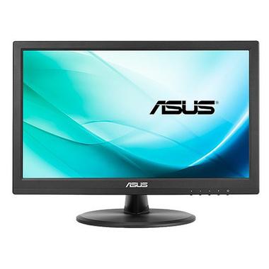 """ASUS VT168N point touch monitor moniteur à écran tactile 39,6 cm (15.6"""") 1366 x 768 pixels Noir Plusieurs pressions"""