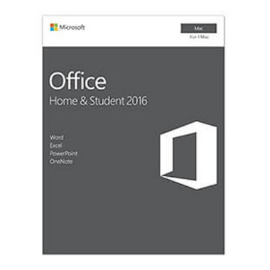 Microsoft Office Home & Student 2016 f/Mac 1 licence(s) Français