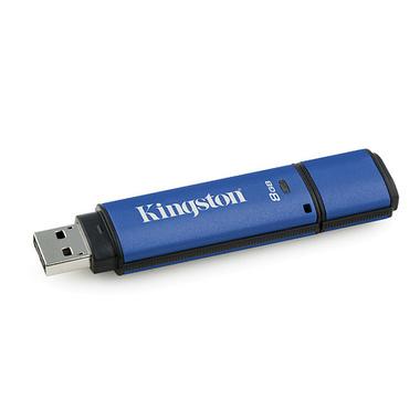 Kingston Technology DataTraveler Vault Privacy 3.0 with Management 8GB lecteur USB flash 8 Go USB Type-A 3.2 Gen 1 (3.1 Gen 1) N
