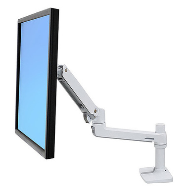 """Ergotron LX Series 45-490-216 support d'écran plat pour bureau 81,3 cm (32"""") Blanc"""