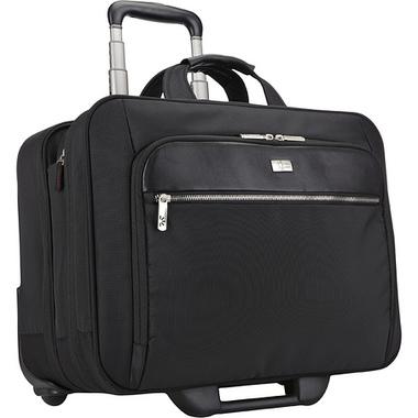 """Case Logic CLRS-117 Black sacoche d'ordinateurs portables 43,2 cm (17"""") Valise sur roulette Noir"""