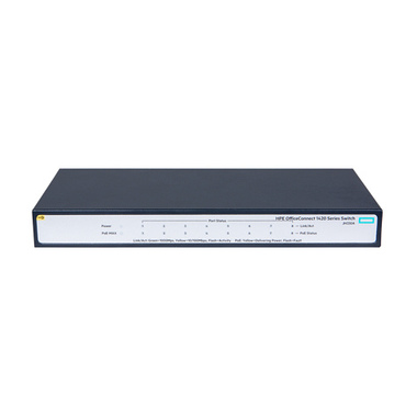Hewlett Packard Enterprise OfficeConnect 1420 8G PoE+ (64W) Non-géré L2 Gigabit Ethernet (10/100/1000) Gris 1U Connexion Etherne