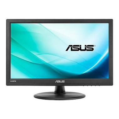 """ASUS VT168H moniteur à écran tactile 39,6 cm (15.6"""") 1366 x 768 pixels Noir Plusieurs pressions Dessus de table"""