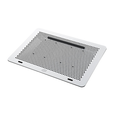 """Cooler Master NotePal MasterNotepal Pro système de refroidissement pour ordinateurs portables 43,2 cm (17"""") Noir, Argent"""