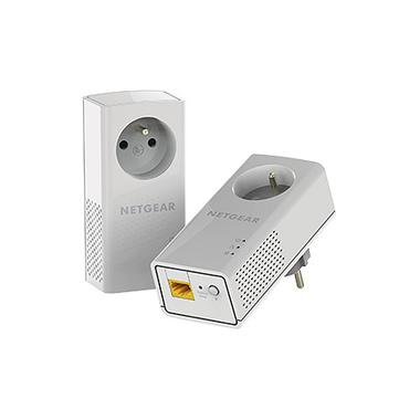 Netgear PLP1000-100FRS Adaptateur réseau CPL 1000 Mbit/s Ethernet/LAN Blanc 2 pièce(s)