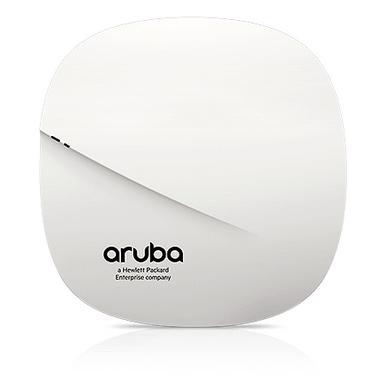 Aruba, a Hewlett Packard Enterprise company AP-305 1300 Mbit/s Connexion Ethernet, supportant l'alimentation via ce port (PoE) B