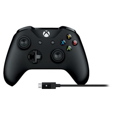 Microsoft 4N6-00002 accessoire de jeux vidéo Manette de jeu PC,Xbox One Bluetooth/USB Noir