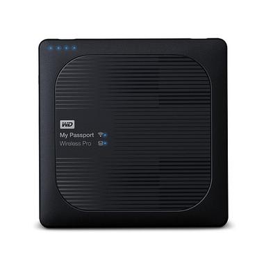 Western Digital My Passport Wireless Pro disque dur externe 1000 Go Wifi Noir