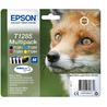 "Epson Fox Multipack ""Renard"" (T1285) - Encre DURABrite Ultra N, C, M, J"