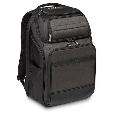 """Targus CitySmart sacoche d'ordinateurs portables 39,6 cm (15.6"""") Étui sac à dos Noir, Gris"""