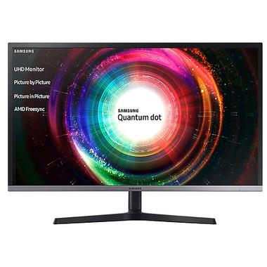 """Samsung 4K QLED MONITEUR 32"""" LU32H850UMU 31.5"""" LED 4K Ultra HD 4 ms Noir, Argent"""
