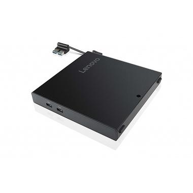 Lenovo 4XH0N06924 station d'accueil Avec fil USB 2.0 Noir