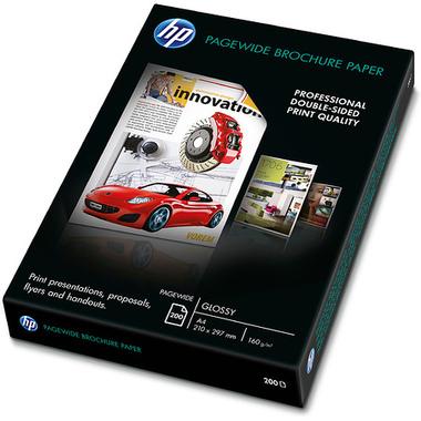 HP PageWide Bro GL A4 papier jet d'encre A4 (210x297 mm) Gloss 200 feuilles Blanc