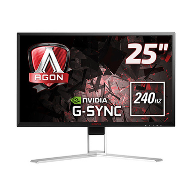 "AOC Gaming AGON 1 AG251FG 24.5"" LED Full HD 1 ms Noir, Rouge"