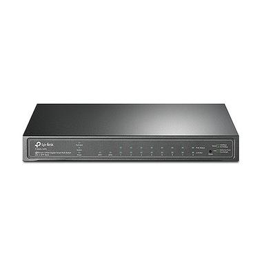 TP-LINK T1500G-10PS(TL-SG2210P) Géré L2/L4 Gigabit Ethernet (10/100/1000) Noir Connexion Ethernet, supportant l'alimentation via