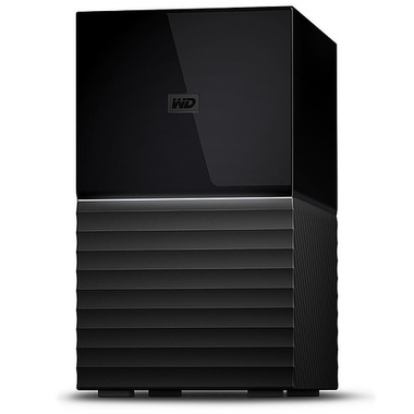 Western Digital My Book Duo boîtier de disques 16 To Bureau Noir