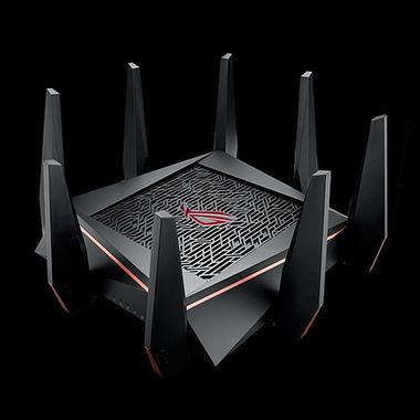 ASUS ROG Rapture GT-AC5300 routeur sans fil Tri-bande (2,4 GHz / 5 GHz / 5 GHz) Gigabit Ethernet Noir