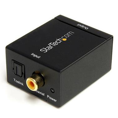 StarTech.com Convertisseur audio coaxial numérique ou Toslink optique SPDIF vers RCA stéréo