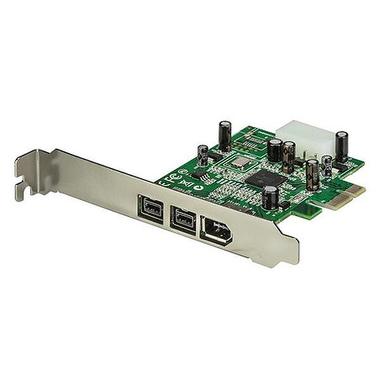 StarTech.com Carte Adaptateur PCI Express vers 3 Ports FireWire - 800 et 400 - 1394a 1394b