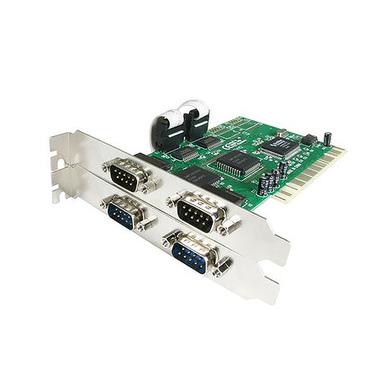 StarTech.com Carte PCI avec 4 Ports DB-9 RS232 - Adaptateur Série - UART 16550