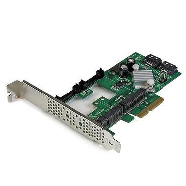 StarTech.com Carte contrôleur PCI Express 2.0 RAID à 2 ports SATA III 6 Gb/s avec 2 slots mSATA et HyperDuo SSD Tiering