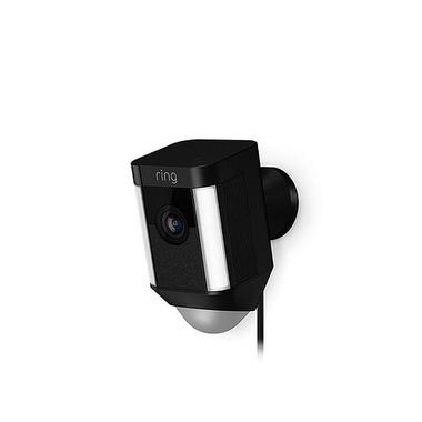 Ring Spotlight Cam Wired Caméra de sécurité IP Extérieure Boîte Mur 1920 x 1080 pixels