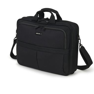 "Dicota Top Traveller sacoche d'ordinateurs portables 43,9 cm (17.3"") Sac Messenger Noir"