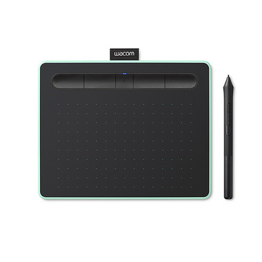 Wacom Intuos M Bluetooth tablette graphique 2540 lpi 216 x 135 mm USB/Bluetooth Noir, Vert