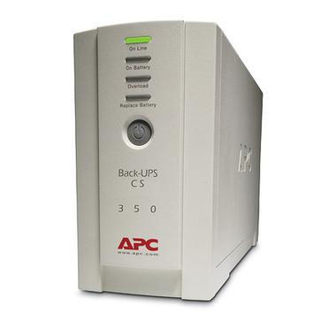 APC Back-UPS alimentation d'énergie non interruptible Veille 350 VA 210 W 4 sortie(s) CA