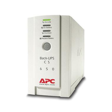 APC Back-UPS alimentation d'énergie non interruptible Veille 650 VA 400 W 4 sortie(s) CA