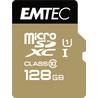 Emtec microSD Class10 Gold+ 128GB mémoire flash