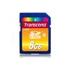 Transcend TS8GSDHC10 mémoire flash 8 Go SDHC Classe 10