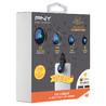 PNY LNS-4N1-02-RB objectif de téléphone mobile Noir