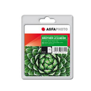 AgfaPhoto LC-1240BK cartouche d'encre 1 pièce(s) Rendement standard Noir